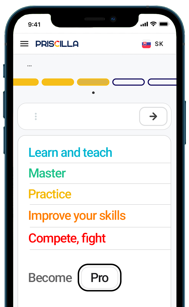 FITPED mobile web